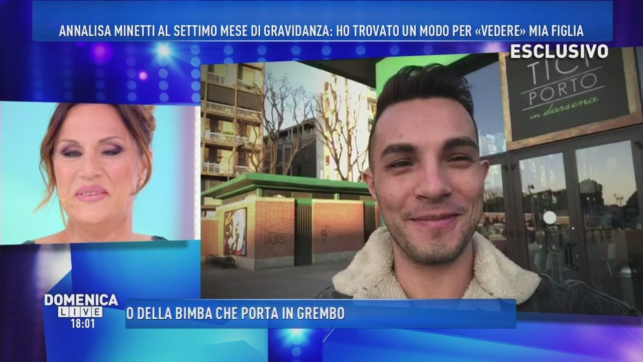 Annalisa Minetti: il video saluto
