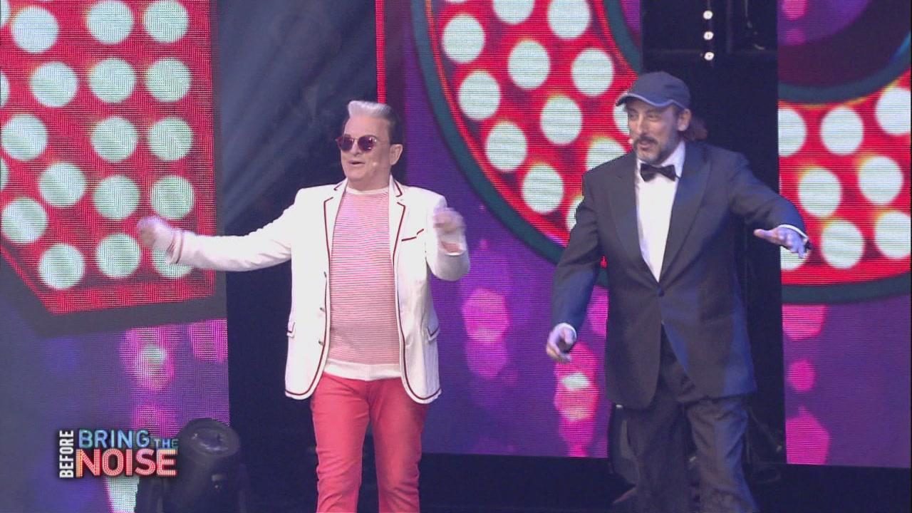 Cristiano Malgioglio e Massimo Ceccherini