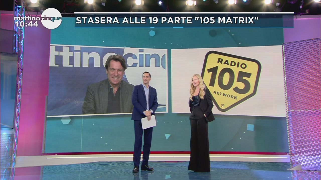 """Porro debutta in radio con """"105 Matrix"""""""