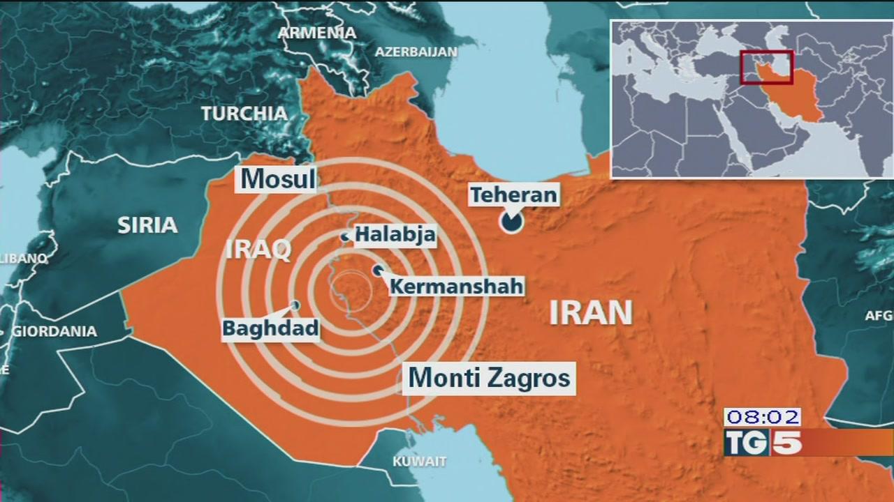 Iraq e Iran colpiti da un forte terremoto