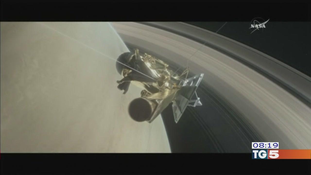 Addio alla sonda Cassini