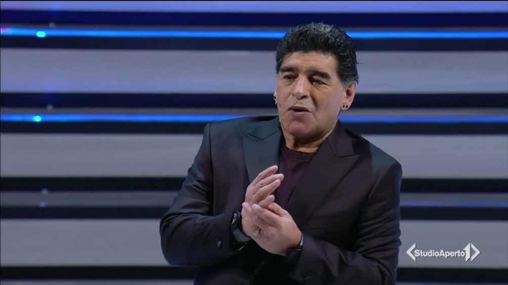 Il ritorno di Maradona a Napoli