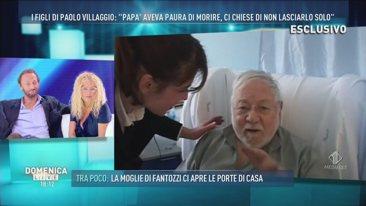 Le Iene intervistano Paolo Villaggio