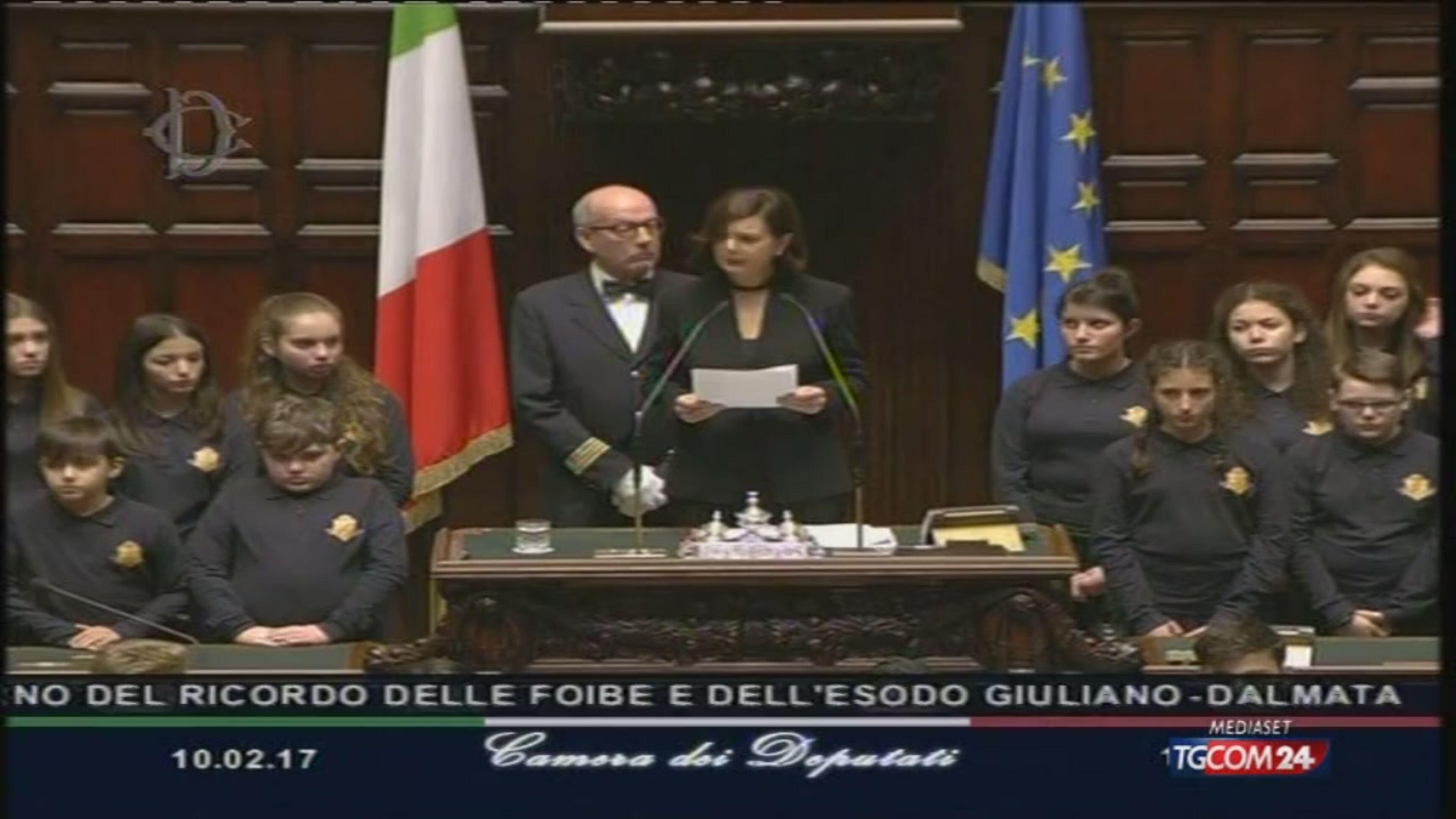 """Giorno del ricordo, Boldrini: """"Mai più guerre ed odio"""""""