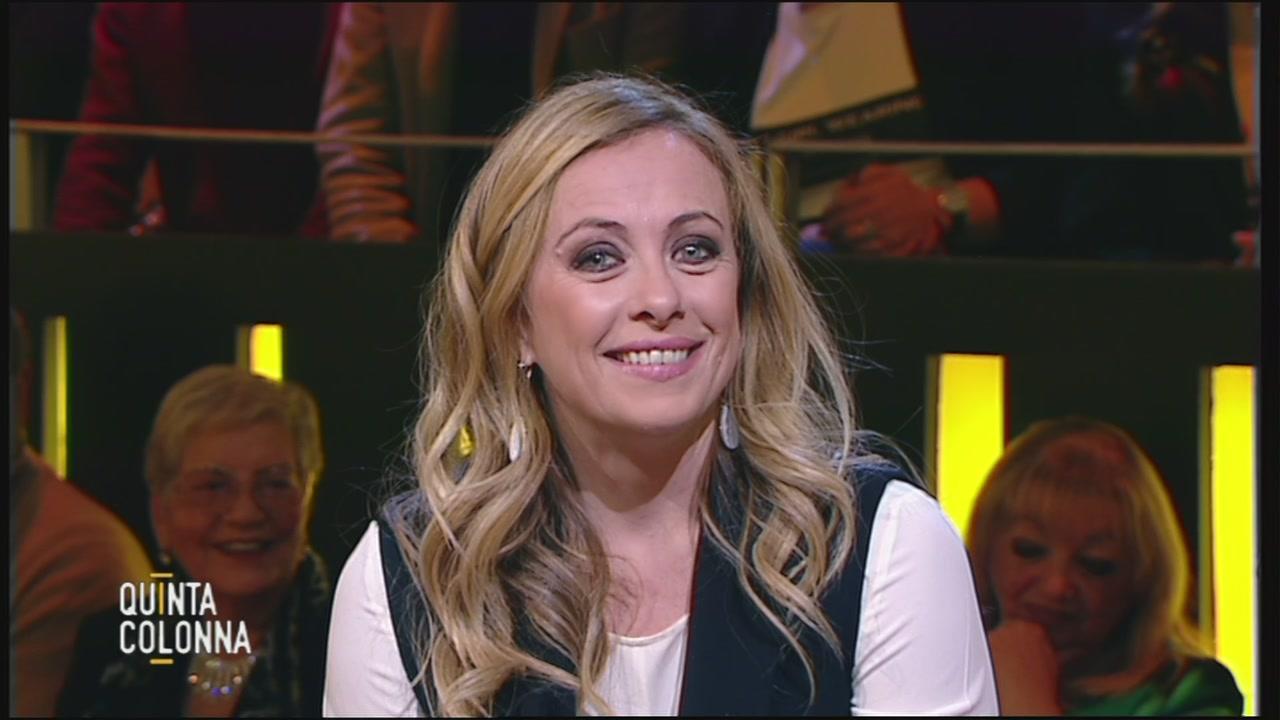 Giorgia Meloni: l'intervista