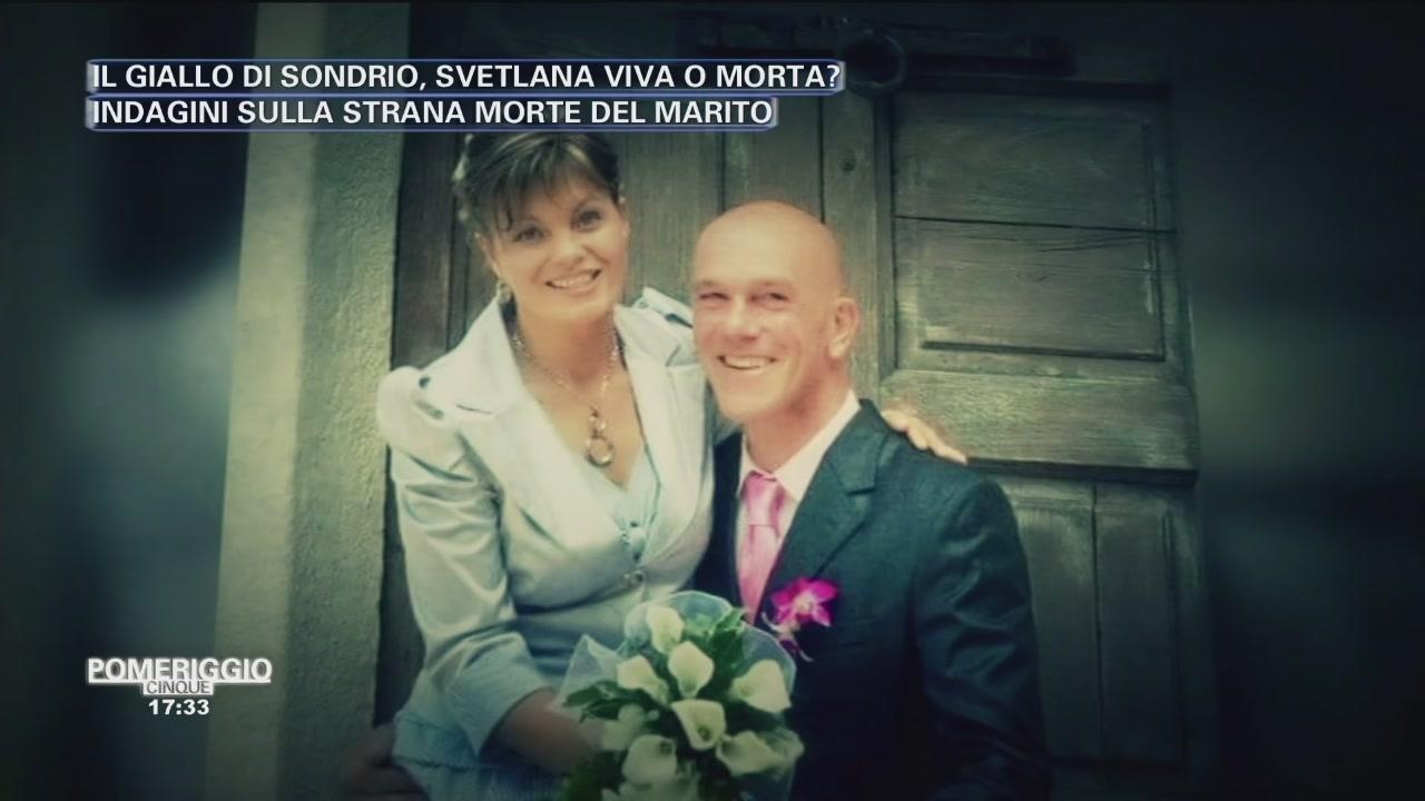 Nicola e Svetlana felici
