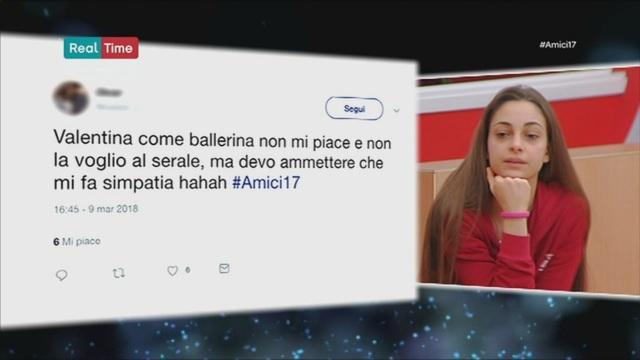 I Tweet per Valentina