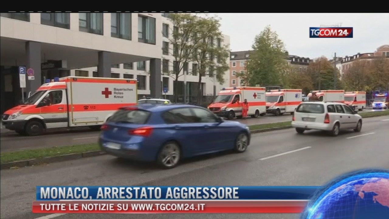 """Monaco, attacca quattro persone con un coltello: arrestato. Polizia: """"Non è terrorismo"""""""