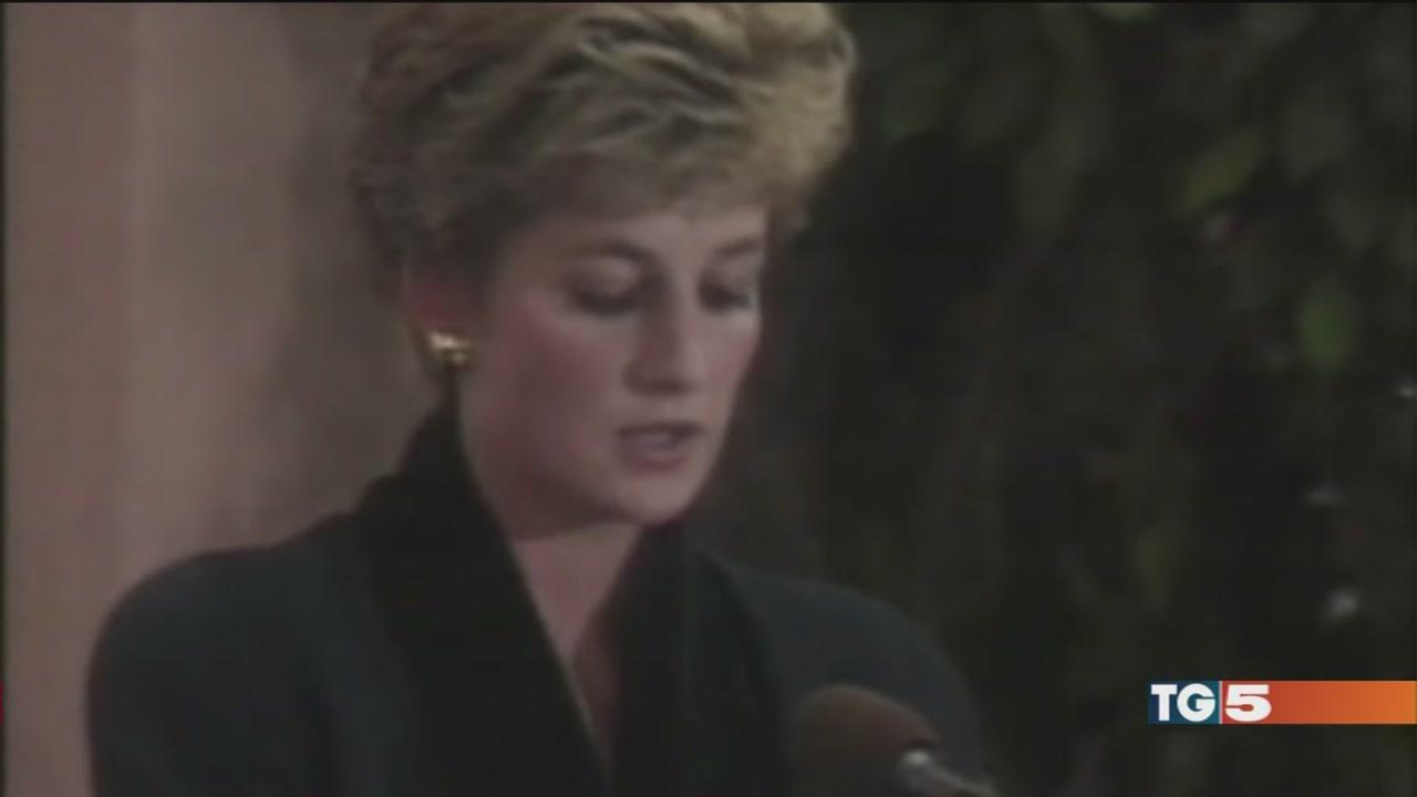 Solitudine e tradimenti, Diana si raccontò così