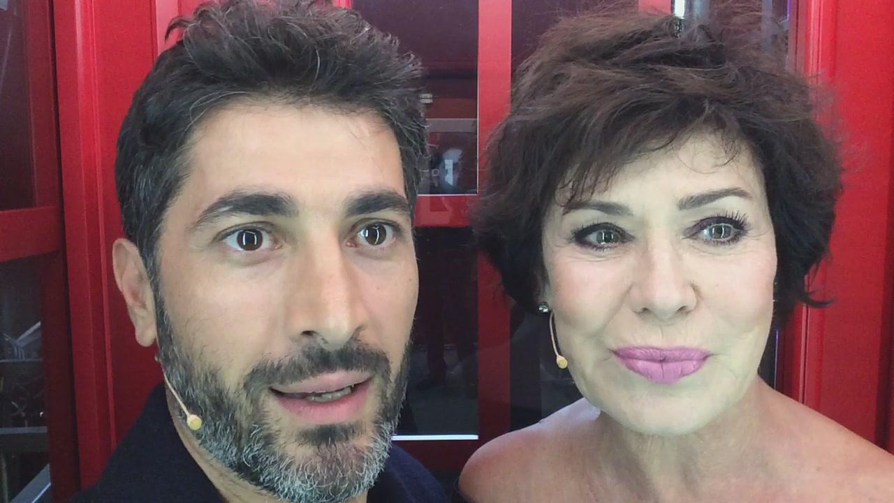 La #cabinarossa di...Angelo Costabile e Corinne Clery