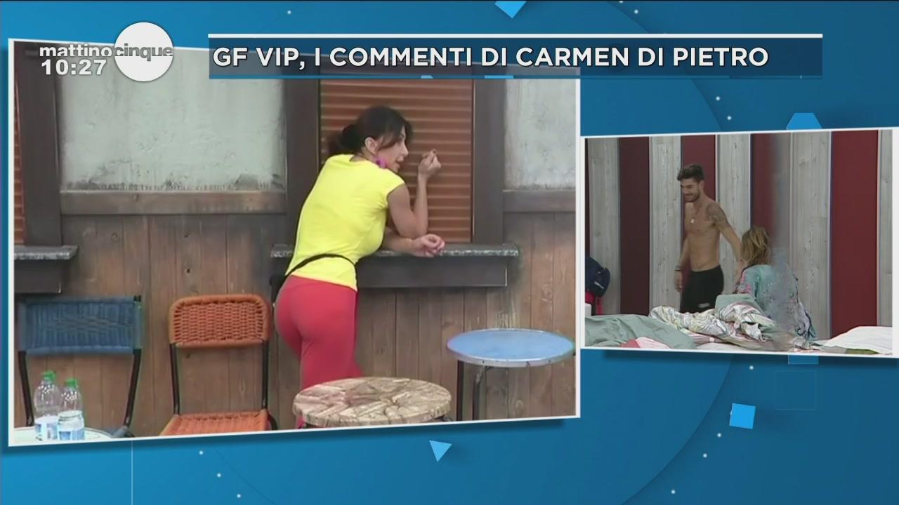 GF Vip 2: Carmen e Cristiano