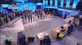 Terzo step: Yamatt – Edo Spino – Valerio – Daniel – Tish – Giulia – Alessia – Klari – Sofia
