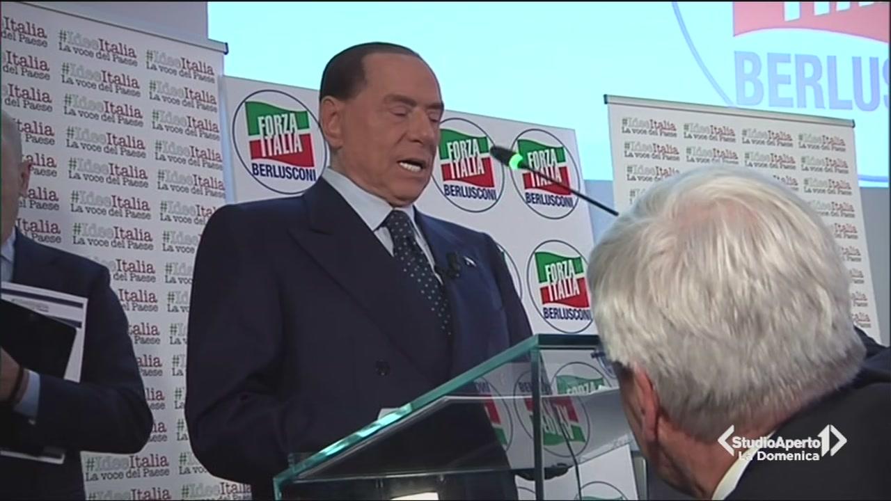 Berlusconi presenta il programma di Forza Italia
