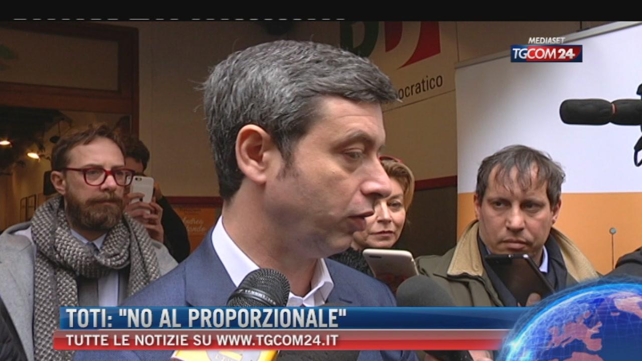 """Orlando: """"Se Pd si allea con Berlusconi, serve referendum"""""""