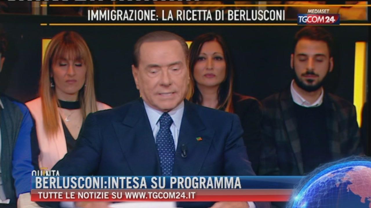 """Breaking News delle ore 21.30: """"Berlusconi: intesa su programma"""""""
