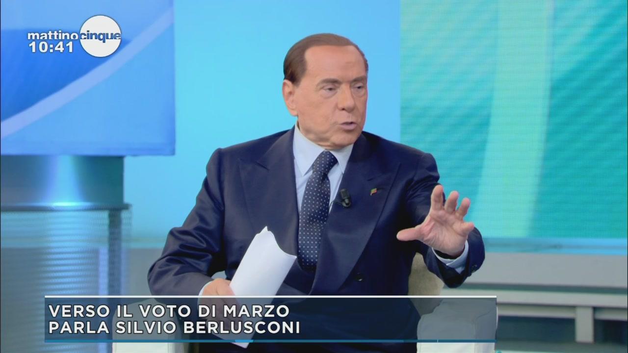 Gli interventi importanti di Silvio Berlusconi
