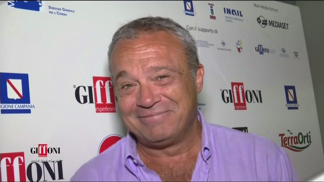L'emozione di Claudio Amendola