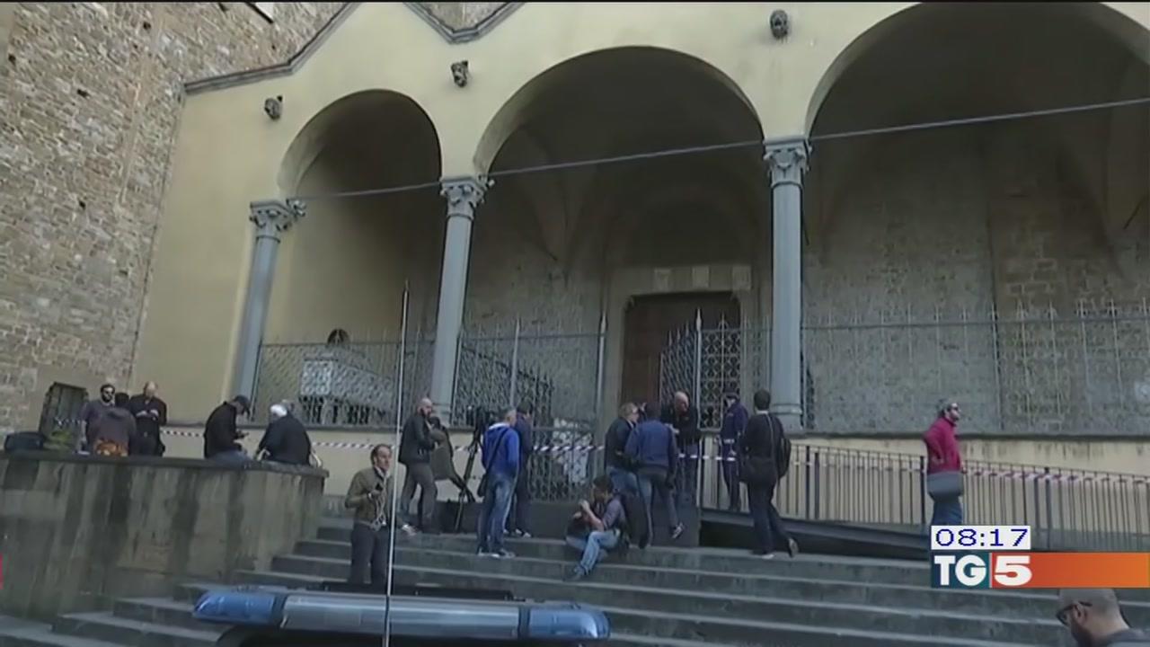 Firenze, crollo dopo i controlli