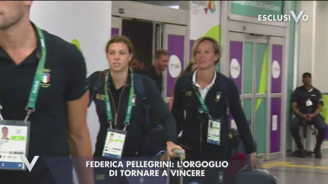 Federica Pellegrini: perdere o vincere