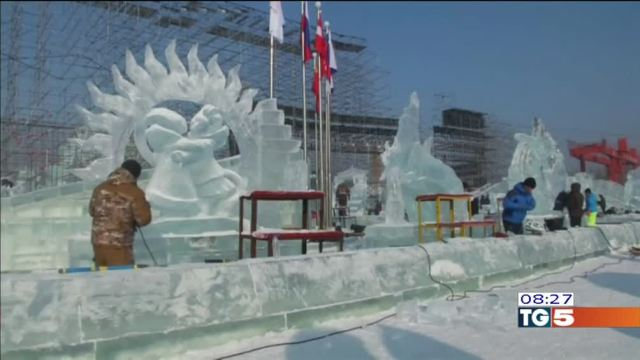 Il festival del ghiaccio