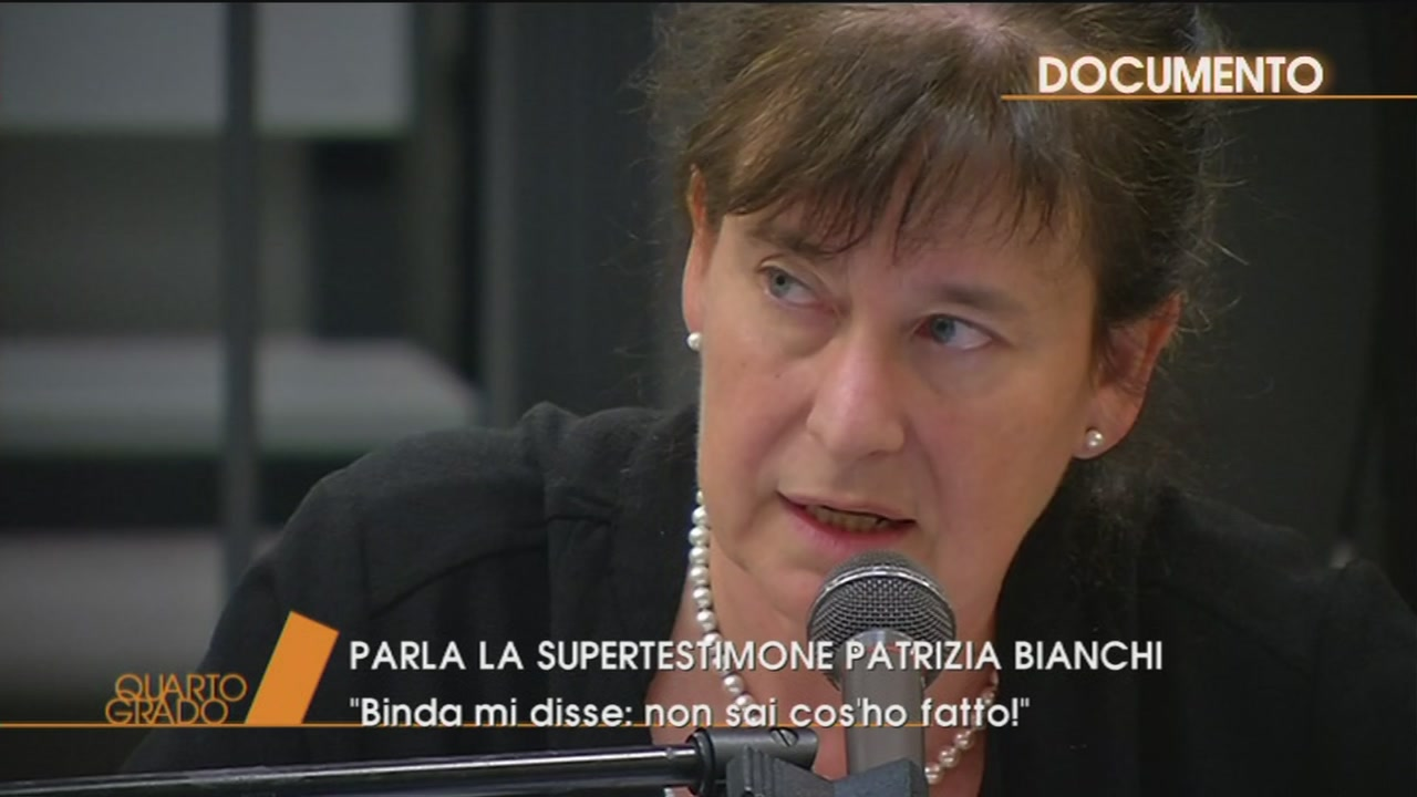Delitto Macchi: Patrizia Bianchi in aula