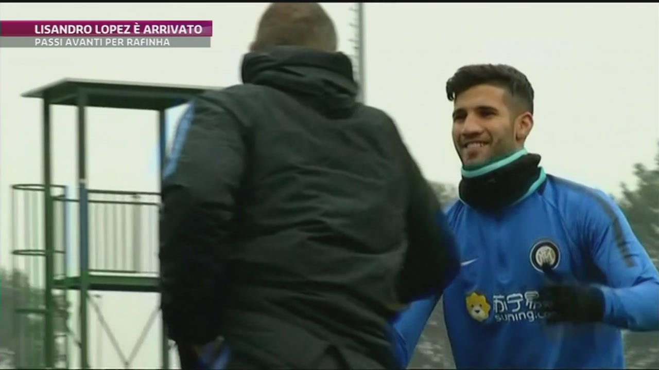 L'Inter accoglie Lisandro