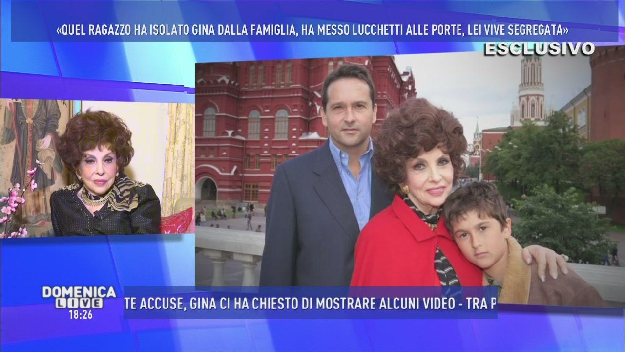 La famiglia di Gina Lollobrigida