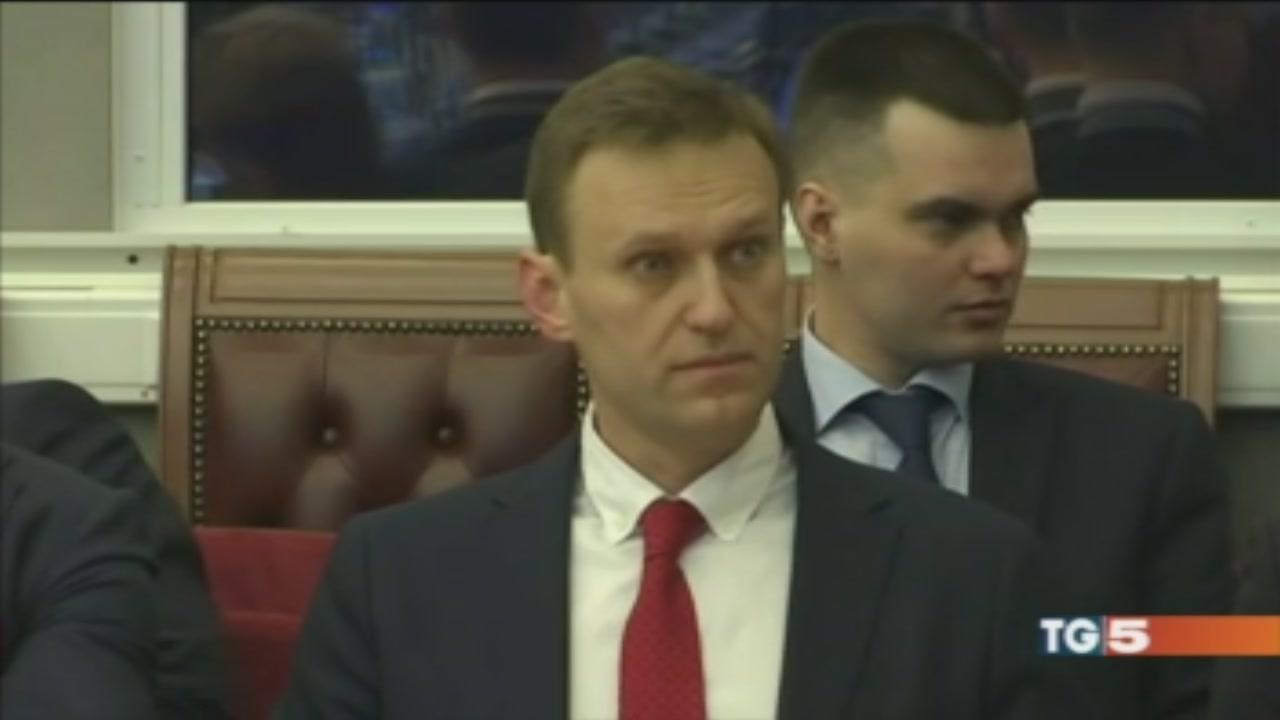 Russia, Navalny tagliato fuori dalla corsa elettorale