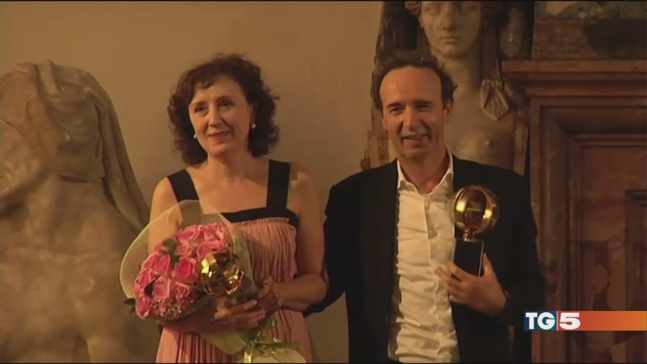 A Roberto e Julia auguri da Oscar!