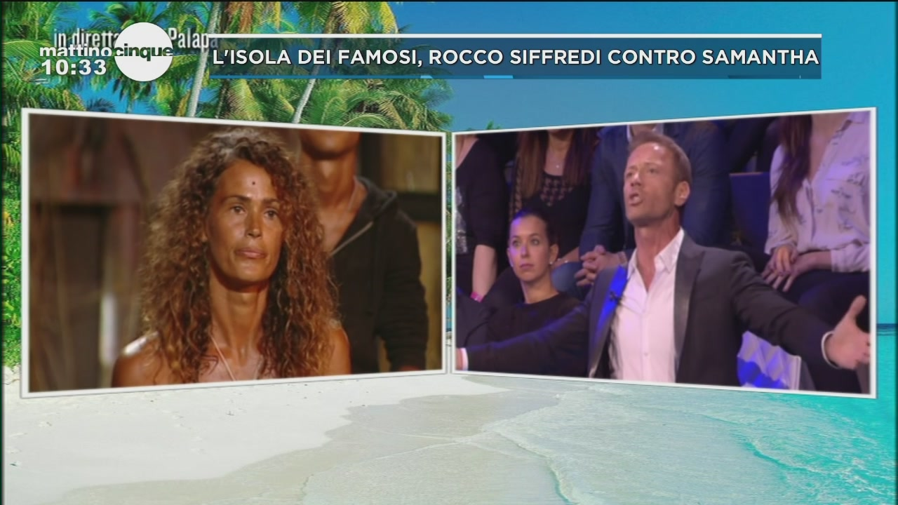 Isola, Rocco vs Samantha De Grenet