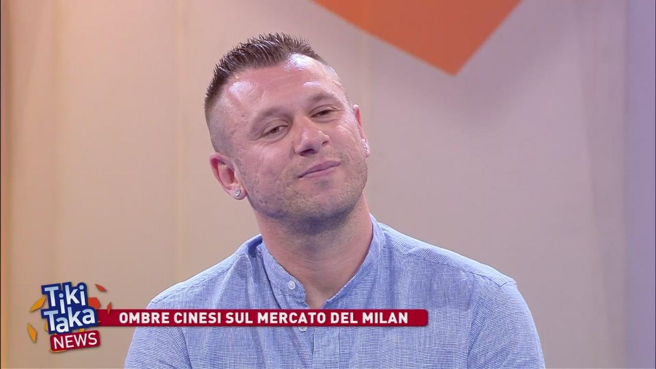 Cassano critica pesantemente il Milan