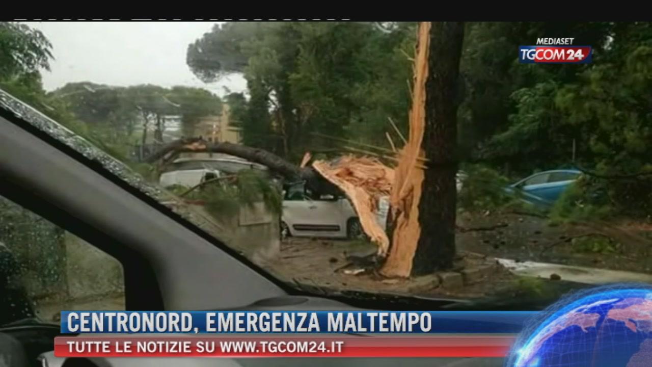 Maltempo: temporali al Nord, venti forti al Sud