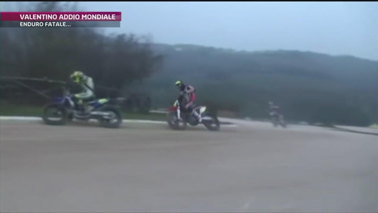Valentino Rossi, addio mondiale