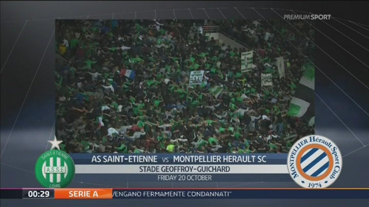 AS Saint Etienne-Montpellier Herault SC 0-1