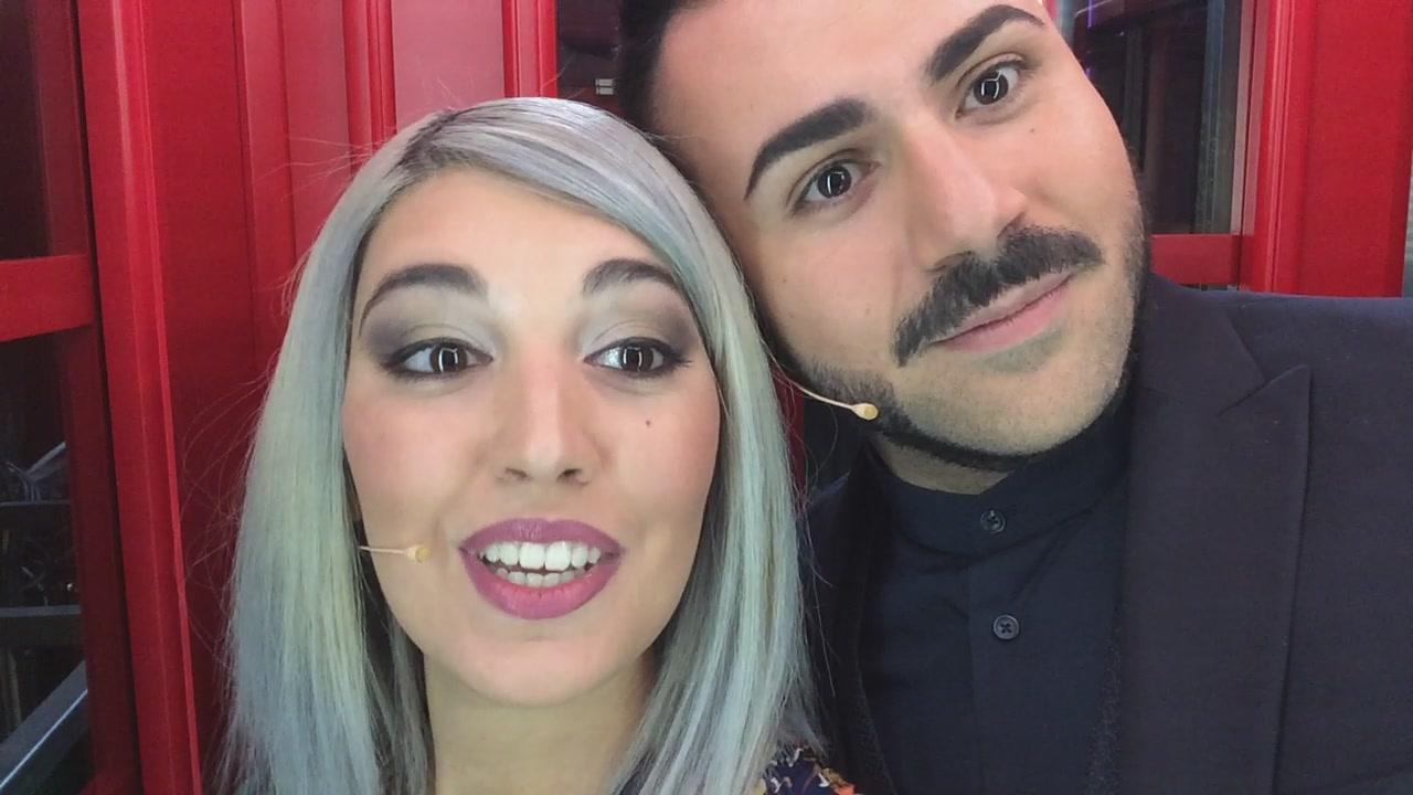La #cabinarossa di… Veronica Satti e Edoardo Ercole