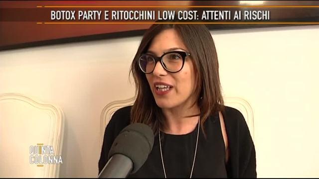 Botox party e ritocchini low cost: attenti ai rischi