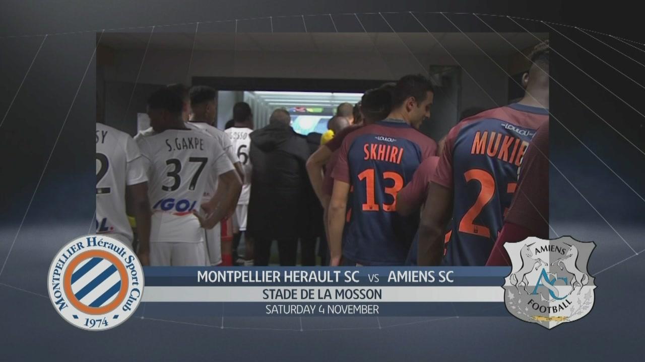 Montpellier Herault SC-Amiens SC 1-1