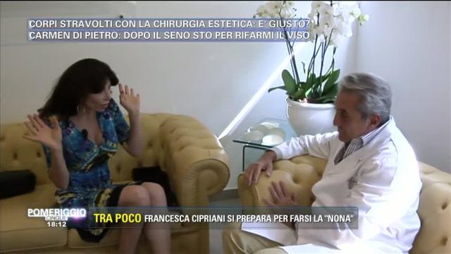 Carmen Di Pietro dal chirurgo estetico
