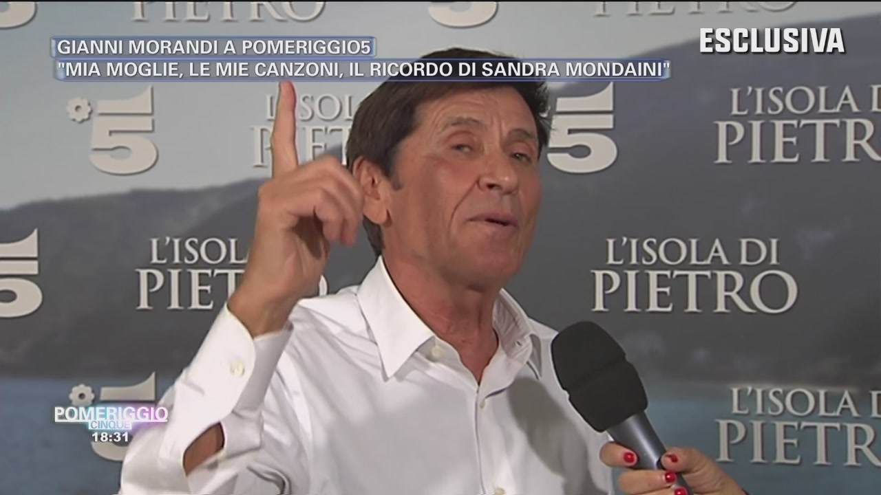 Gianni Morandi - Intervista esclusiva