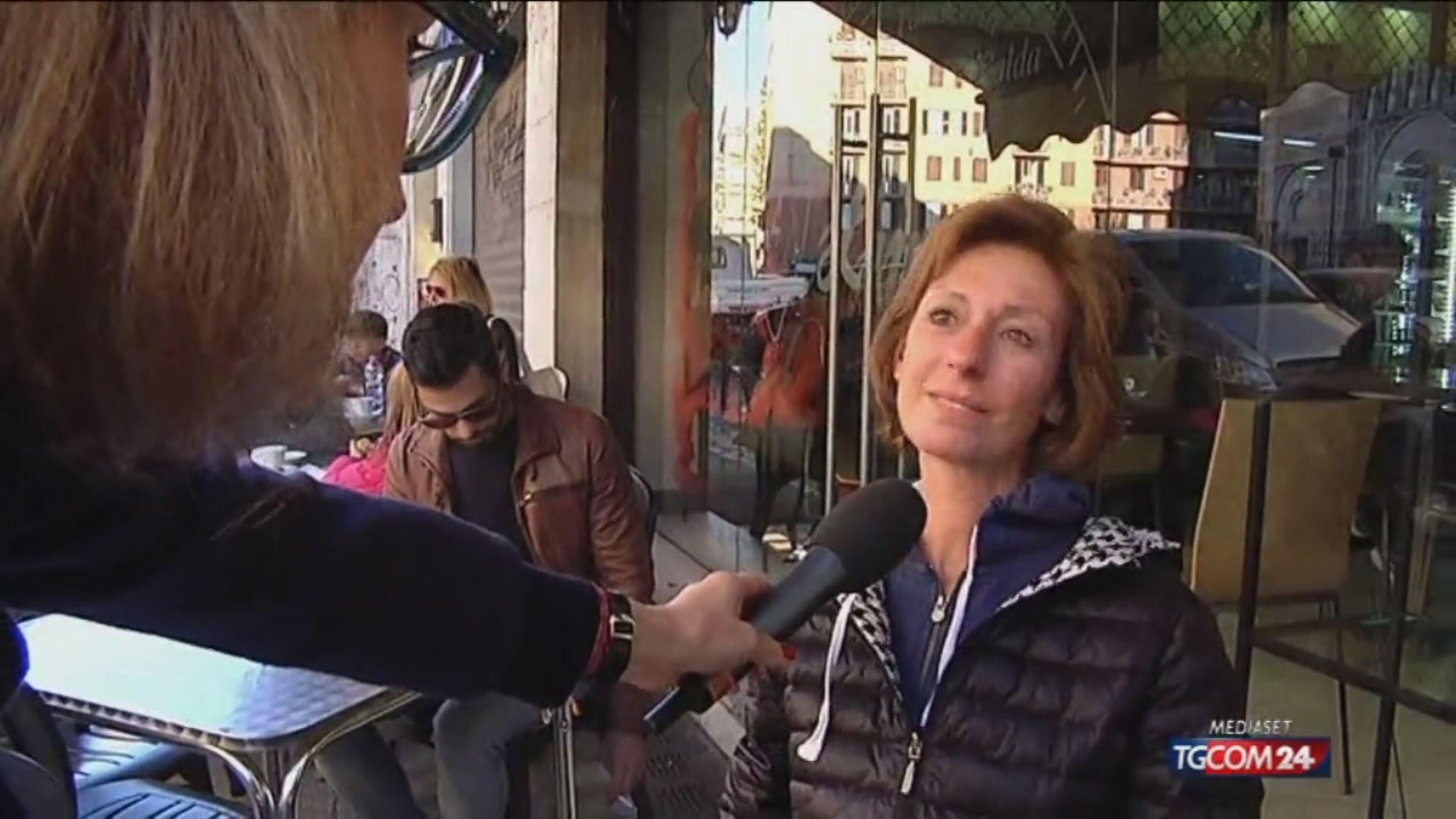 Terremoto: paura a Roma, la gente in strada