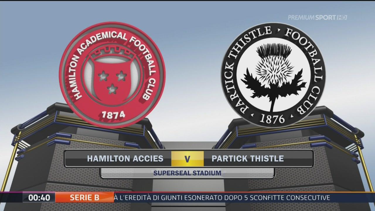 Hamilton Accies-Partick Thistle 0-0
