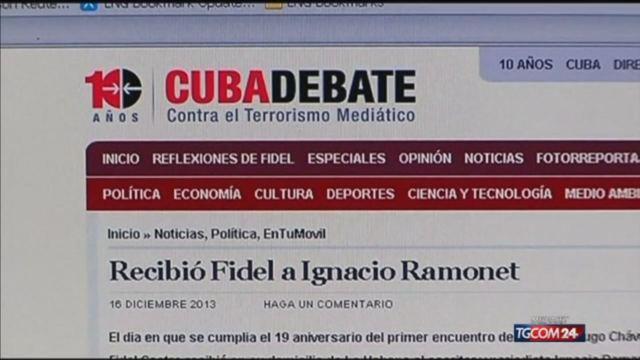 Cuba: riappare Fidel Castro