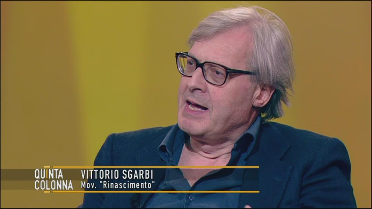 La tesi di Vittorio Sgarbi: salvare la vita o l'euro?