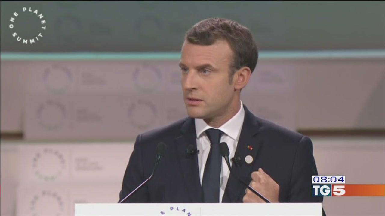 Vertice di Parigi, accordo sul clima