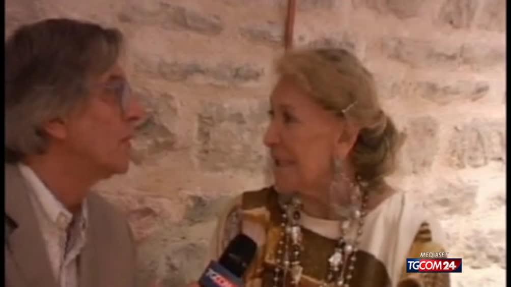 Marta Marzotto, l'ultima intervista di Gianni Marussi al Festival dei 2 Mondi di Spoleto