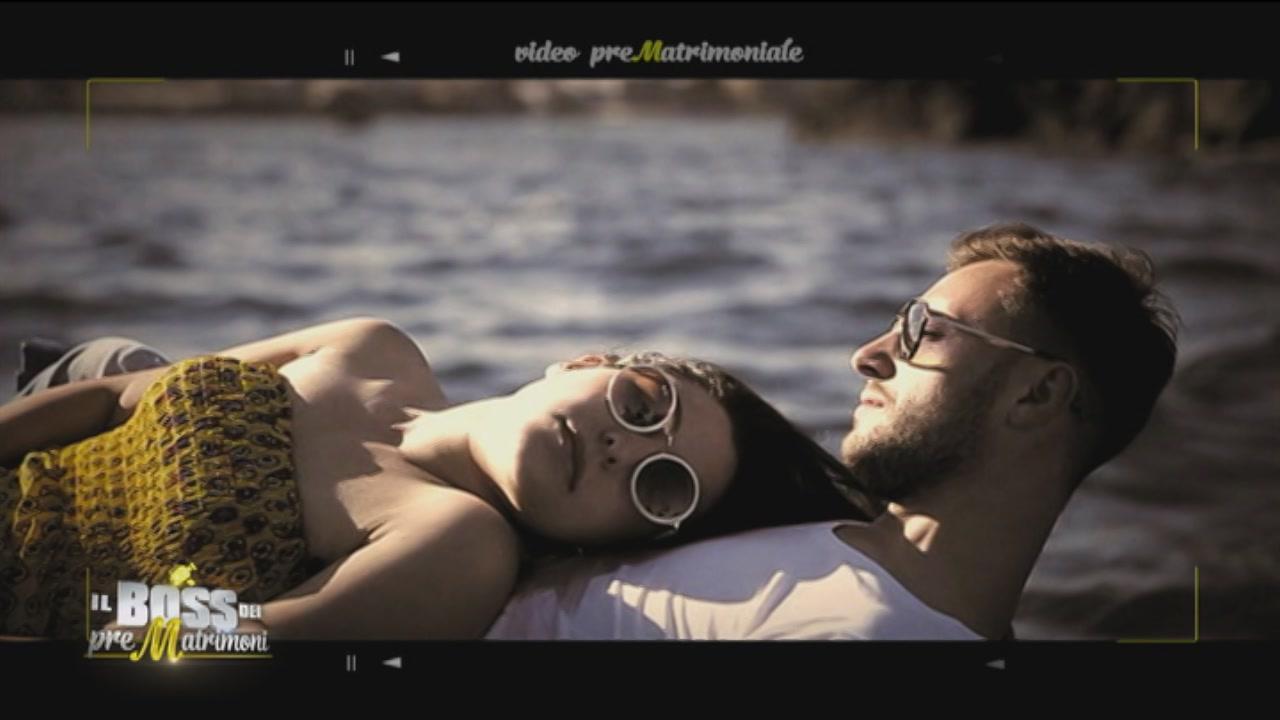 Il prematrimonio di Antonella e Alessandro