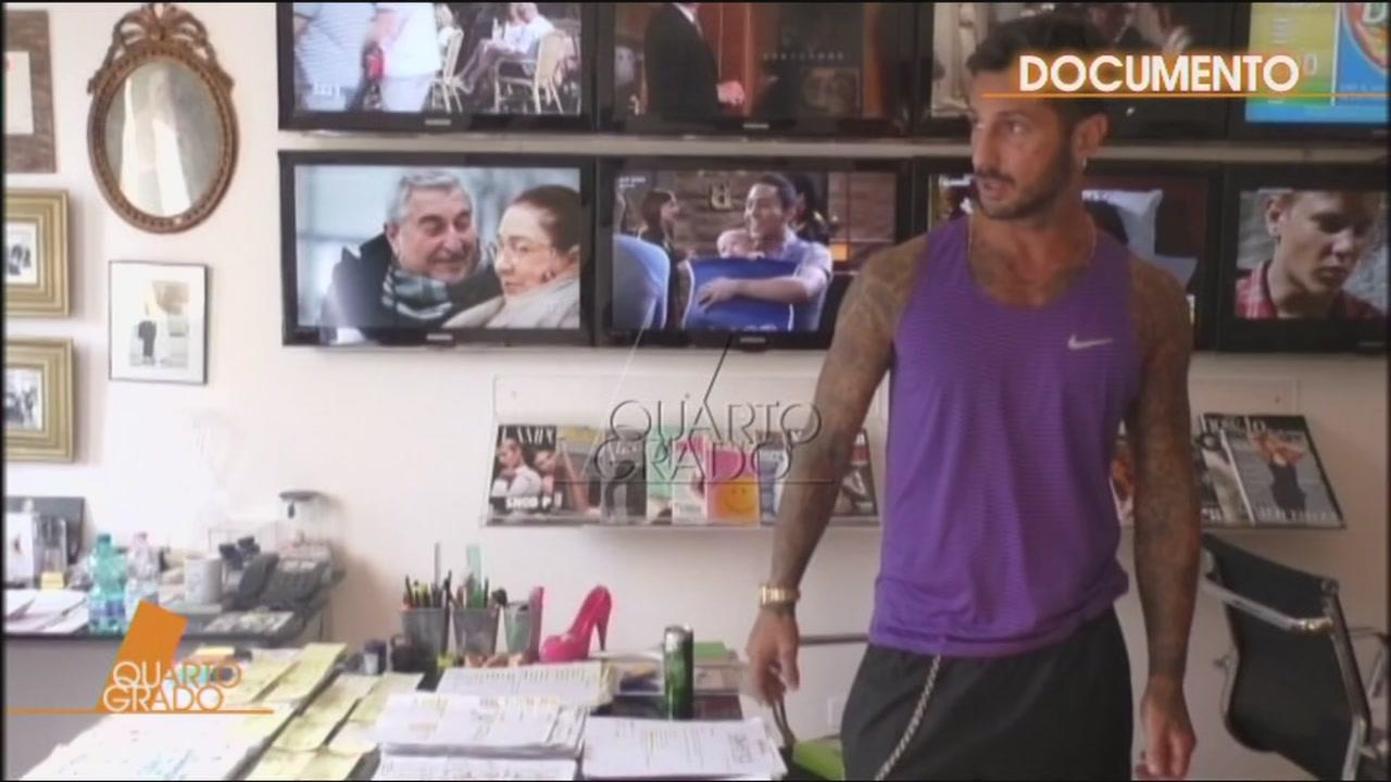 Perquisizione a Fabrizio Corona