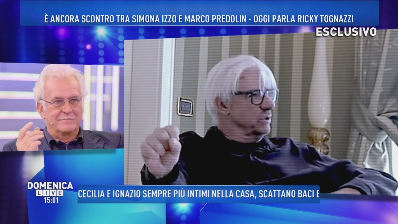 Oggi parla Ricky Tognazzi