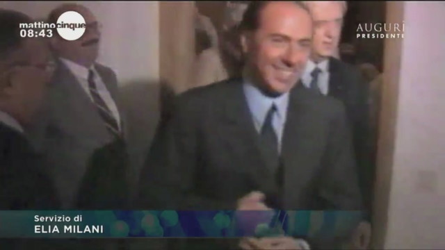 Auguri presidente! Una vita tra tv, sport e politica