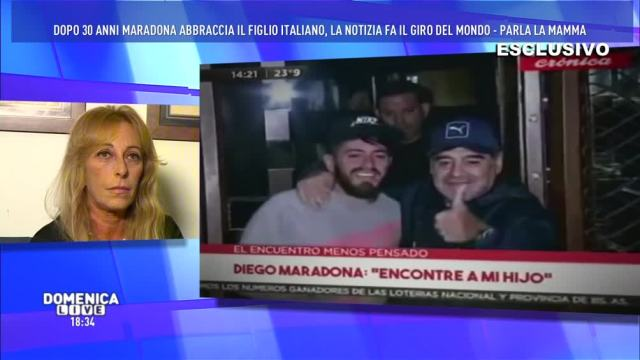 Maradona:'Finalmente insieme!'